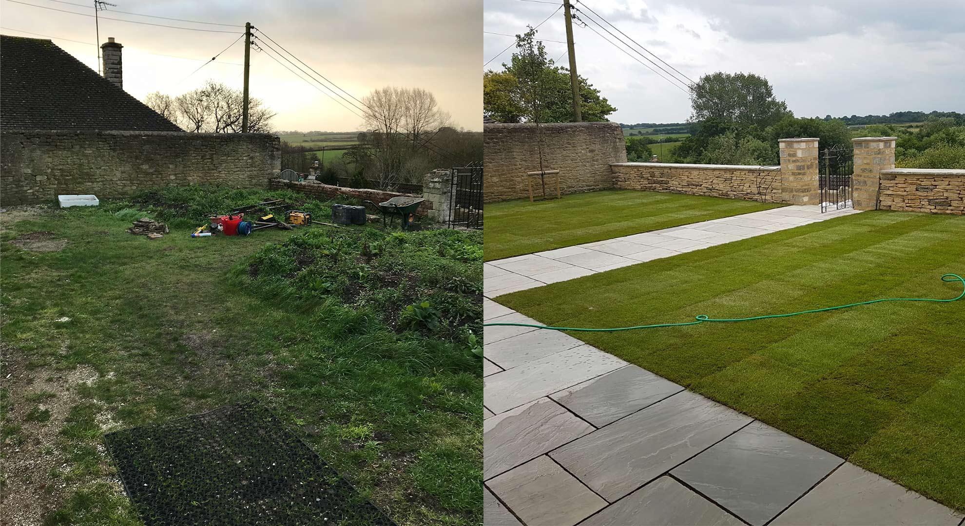 BEFORE & AFTER   Luke Irvine Garden Design